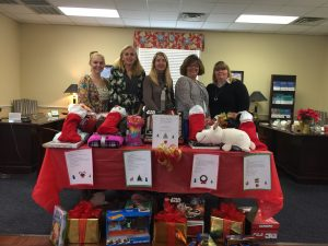 Christmas Gifts for Stoner Thomasville School Students