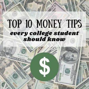 Top ten money Savings Tips Article
