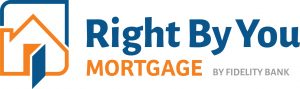 Right By You Mortgage Logo Graphic Design