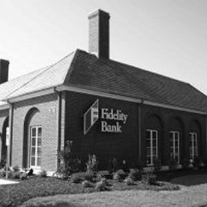 Black and white photo of the Garner Branch