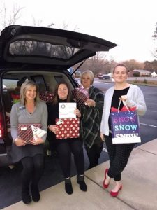 Fidelity Bank Employees Buying Gifts for Children
