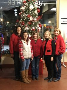 Fidelity Bank Rocky Mount, VA Team at the Franklin county Christmas event