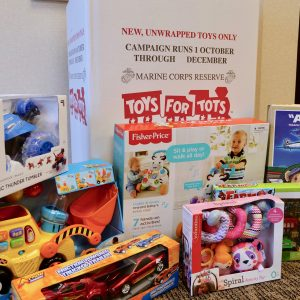 Picture of toys collected