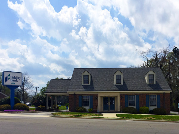 An image of a sunny day at the Roxboro bank