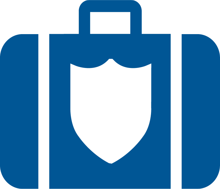 Image Suitcase with Shield