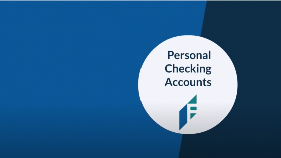 Image Personal Checking Account Video Preview